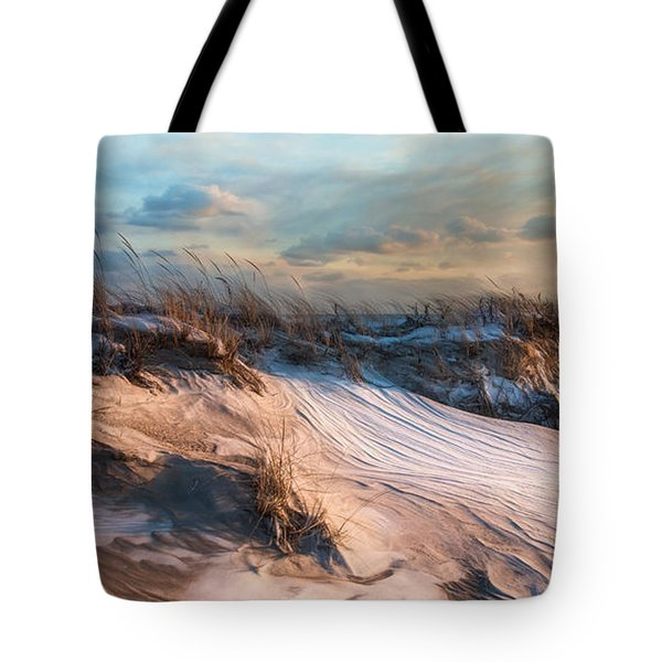 Tote Bag featuring the photograph Wind Swept by Robin-Lee Vieira