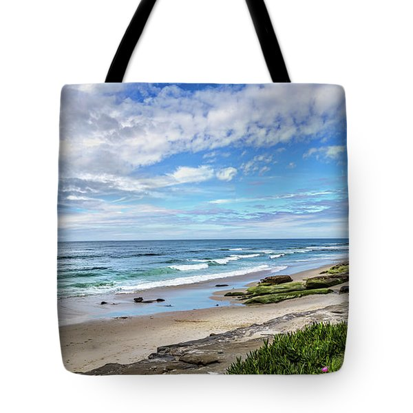 Tote Bag featuring the photograph Windansea Wonderful by Peter Tellone