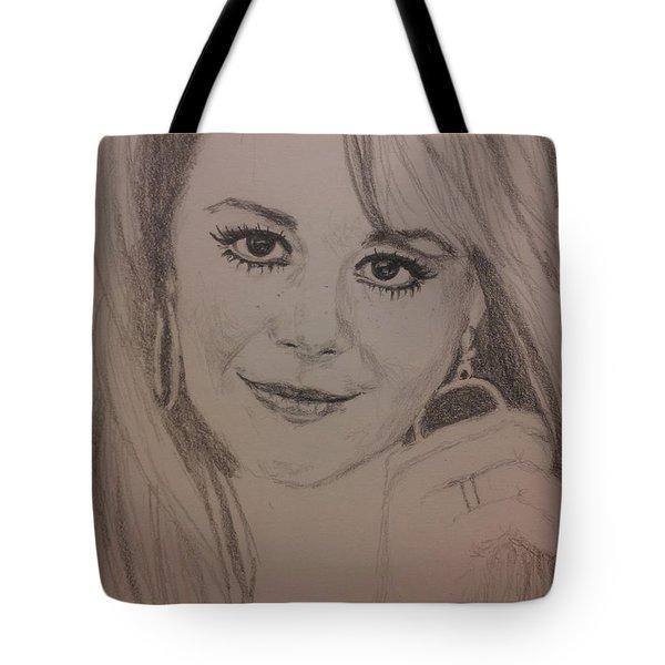 Windblown Natalie Tote Bag