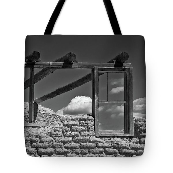 Winddow View Tote Bag by Carolyn Dalessandro