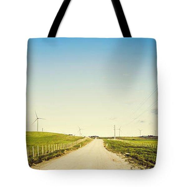 Windfarm Way Tote Bag