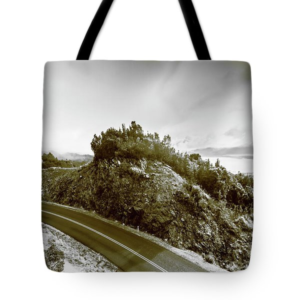 Winding Gordon River Road Tote Bag