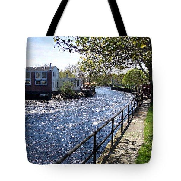 Winding River Tote Bag