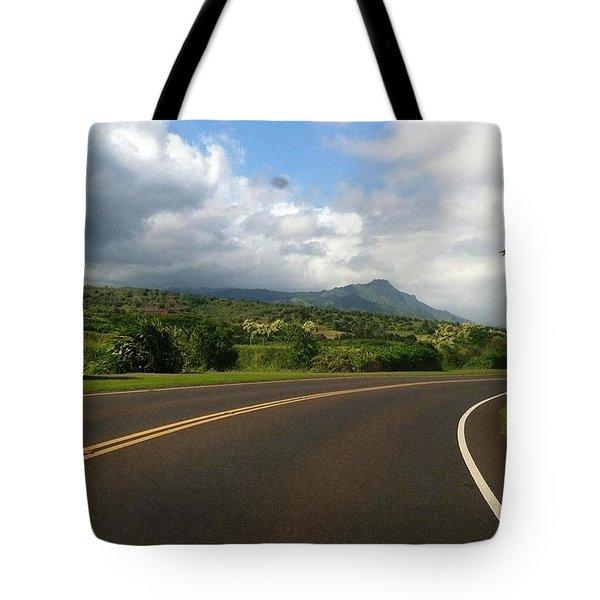 Winding Road  Tote Bag by Alohi Fujimoto