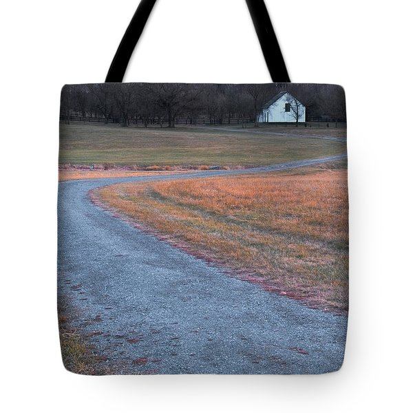 Winding Road Tote Bag