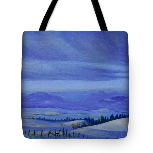 Winding Roads Tote Bag