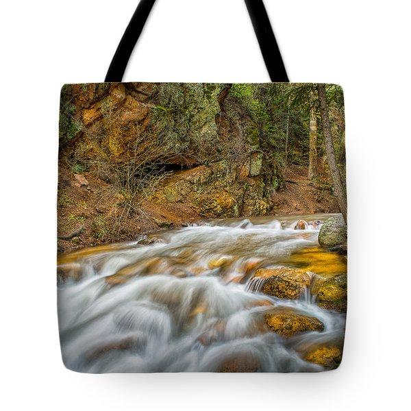 Winding Stream Tote Bag