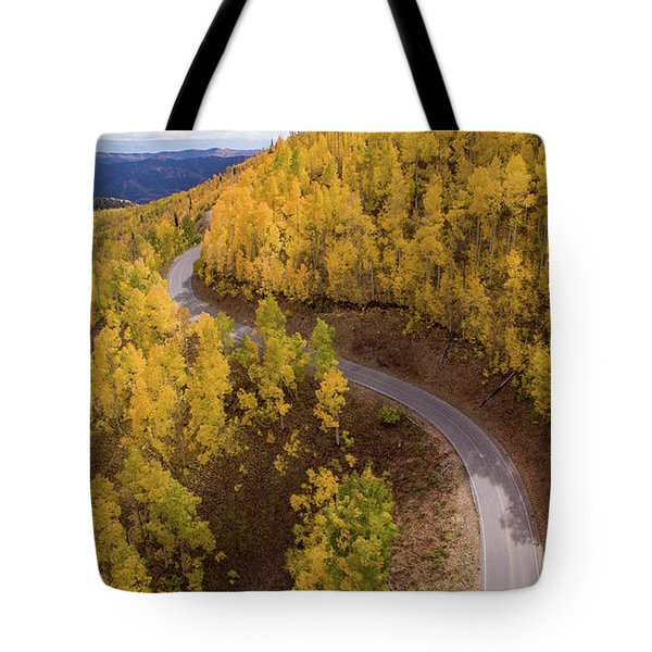 Winding Through Fall Tote Bag