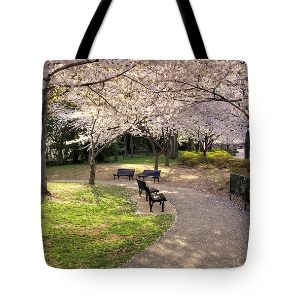 Winding Trail To The Tidal Basin Tote Bag