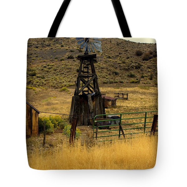 Windmill 1 Tote Bag by Marty Koch