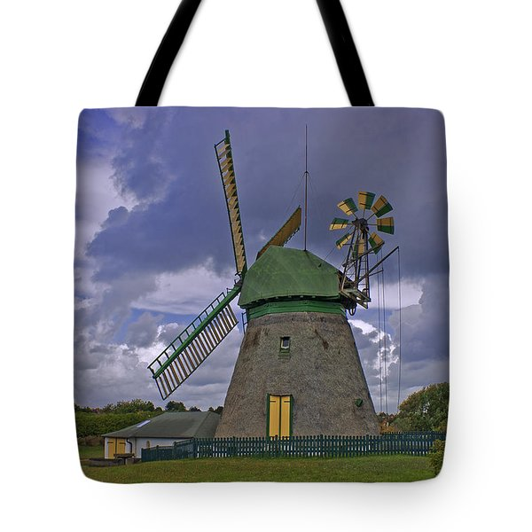 Windmill Amrum Germany Tote Bag