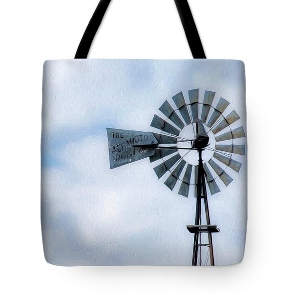 Tote Bag featuring the photograph Windmill Art -010 by Rob Graham