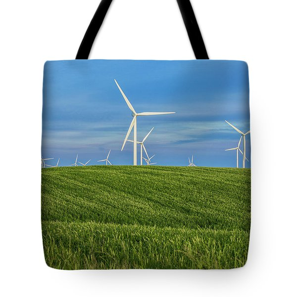 Windmill Farm Tote Bag