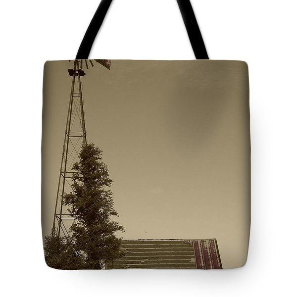 Windmill II Tote Bag