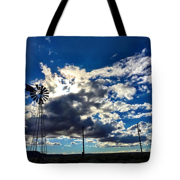 Windmill Lonely Tote Bag