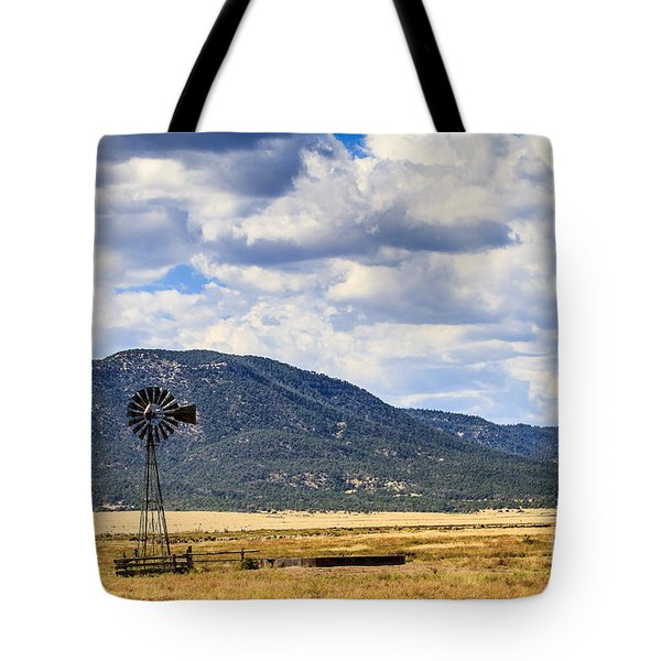 Windmill New Mexico Tote Bag