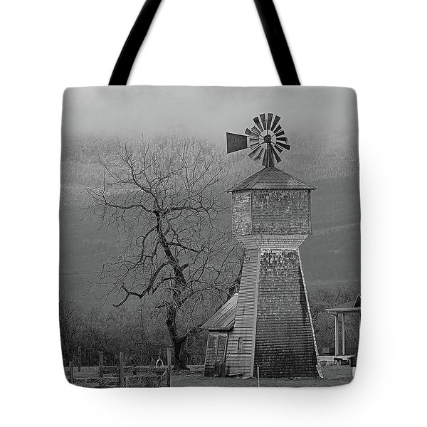 Tote Bag featuring the photograph Windmill Of Old by Suzy Piatt