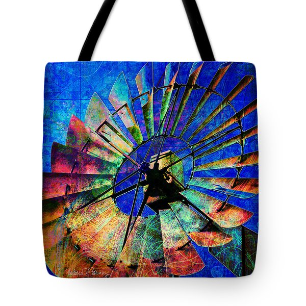 Windmill Power Tote Bag