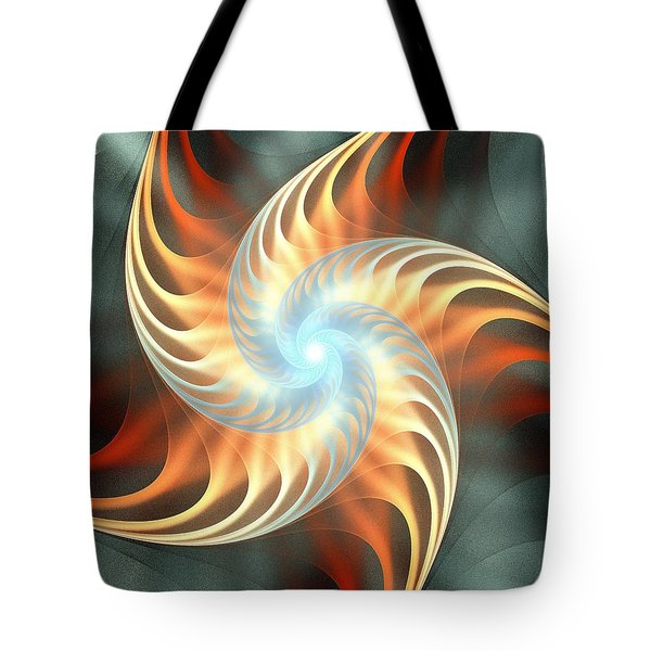 Tote Bag featuring the digital art Windmill Toy by Anastasiya Malakhova