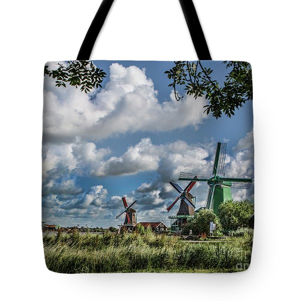 Windmills Of Holland Tote Bag
