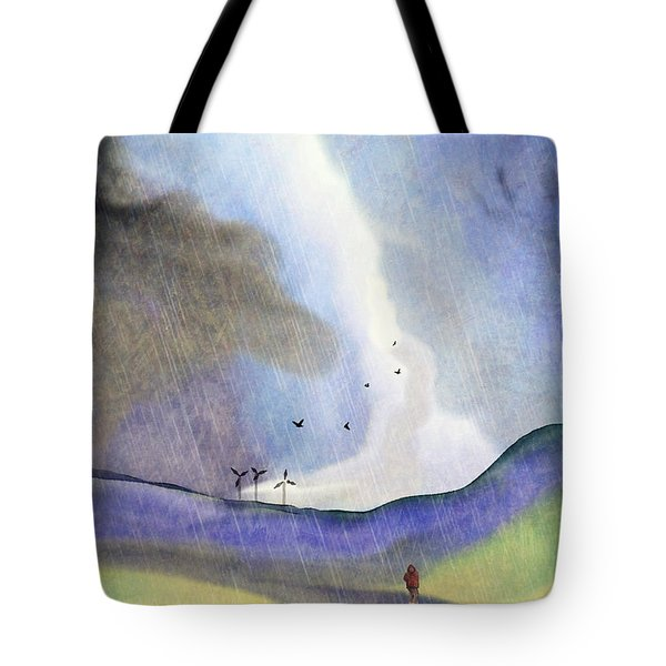 Windmills Of The Mind Tote Bag