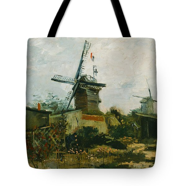 Windmills On Montmartre Tote Bag