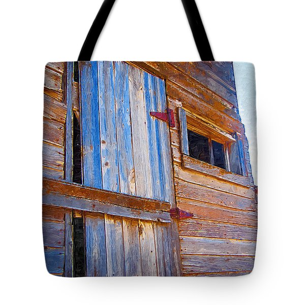Tote Bag featuring the photograph Window 3 by Susan Kinney