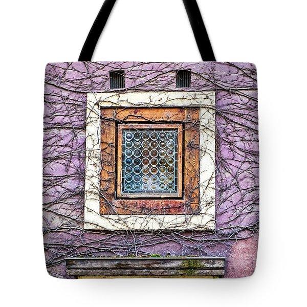 Window And Vines - Prague Tote Bag