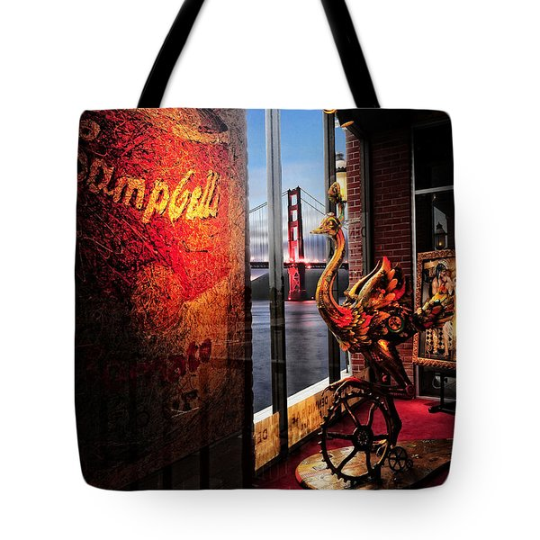 Window Art Tote Bag by Steve Siri