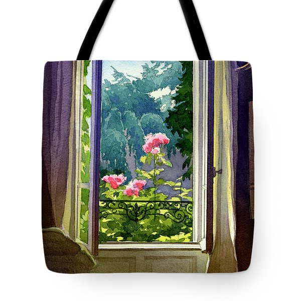 Window At Clermont Tote Bag