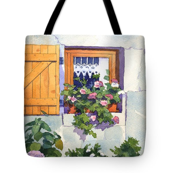 Window At St Saturnin Tote Bag