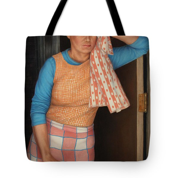 Window Cleaner Tote Bag by James W Johnson