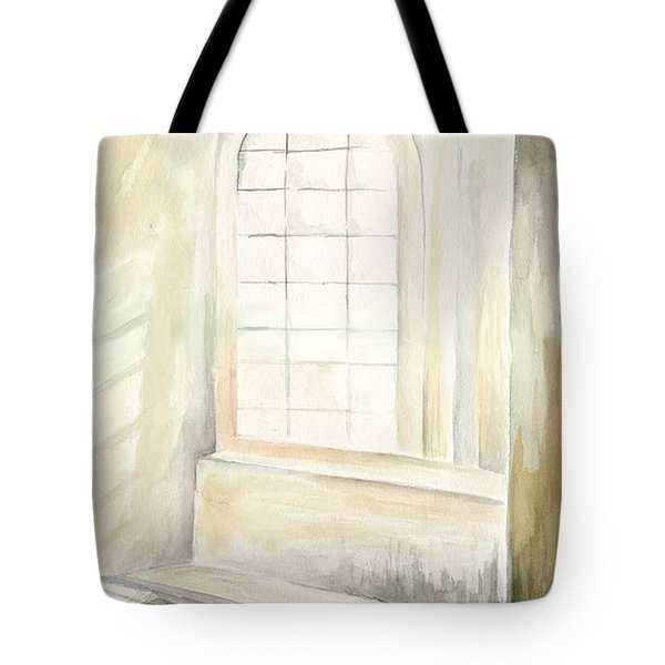 Tote Bag featuring the painting Window by Darren Cannell