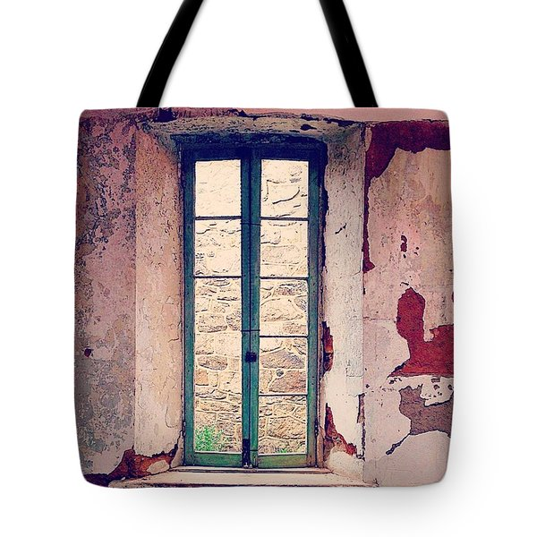 Window In Eastern State Pennitentiary Tote Bag