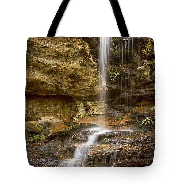 Window Falls In Hanging Rock State Park Tote Bag