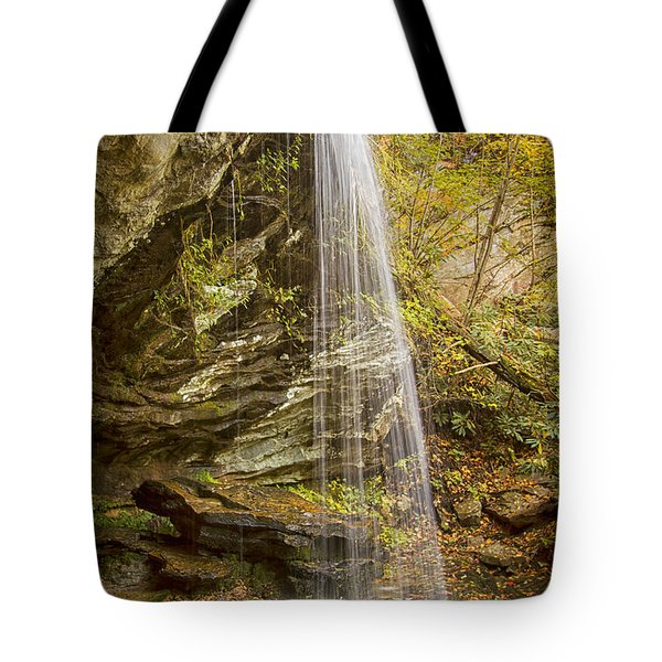 Window Falls In The Autumn Tote Bag