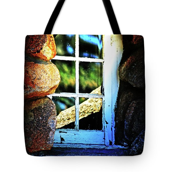 Window In Rock Tote Bag