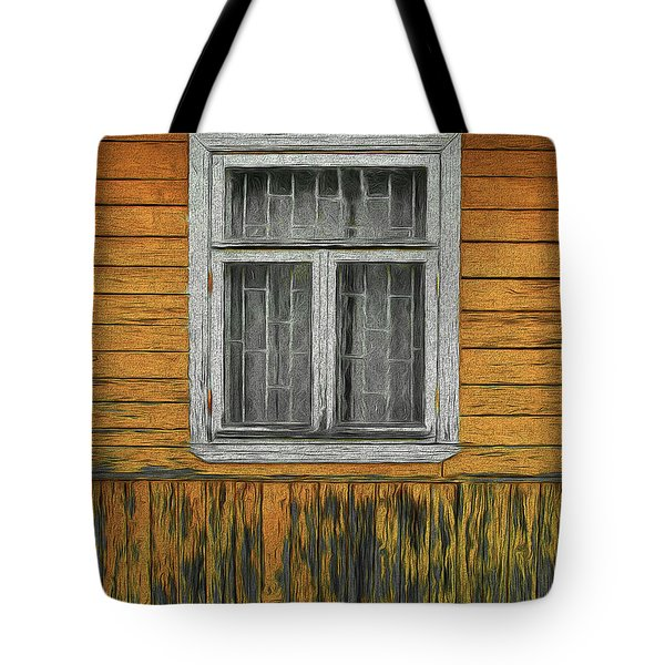 Window In The Old House Tote Bag
