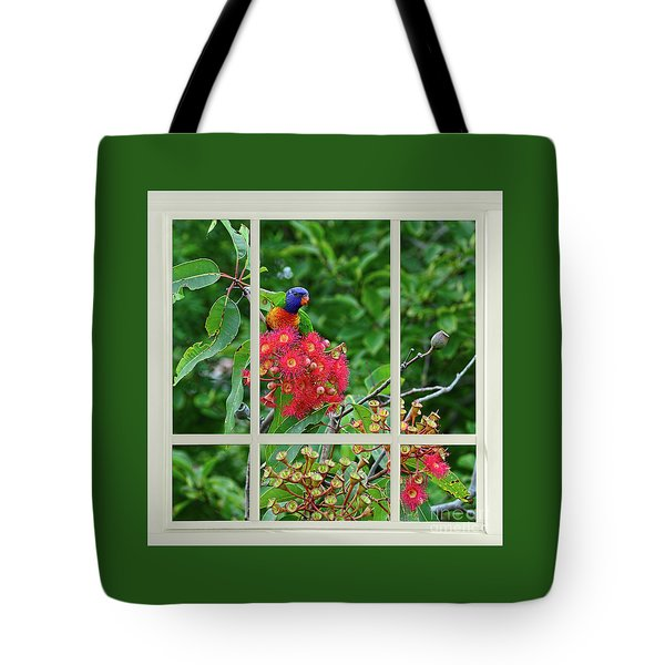 Window Of Nature By Kaye Menner Tote Bag