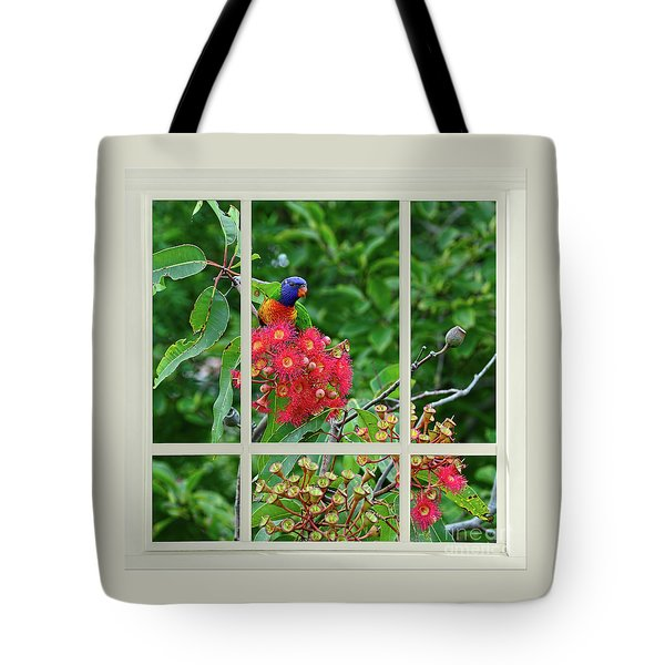 Tote Bag featuring the photograph Window Of Nature By Kaye Menner by Kaye Menner