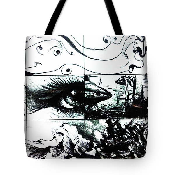Window Of Time Tote Bag