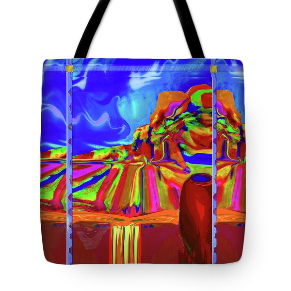 Window On Santa Fe Tote Bag