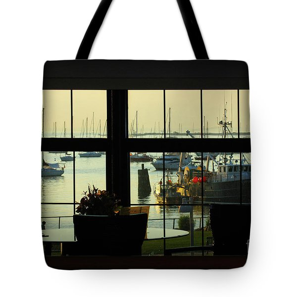 Window Painting Tote Bag
