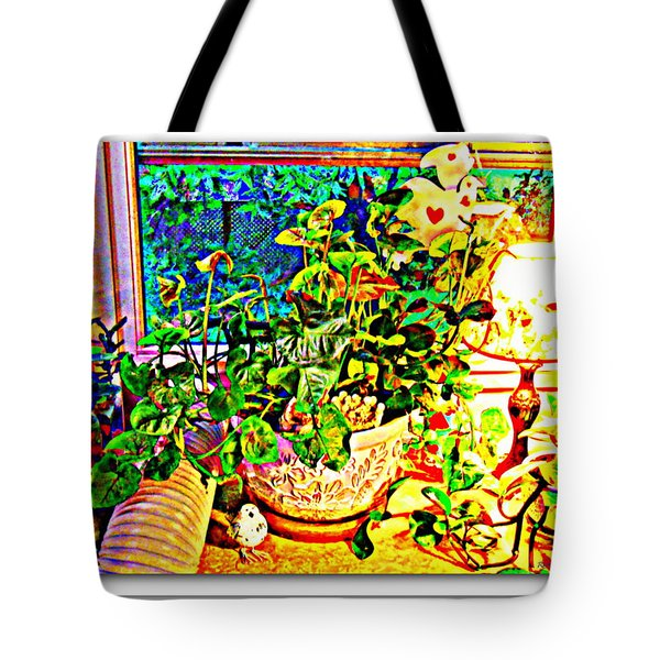 Window Plant Tote Bag