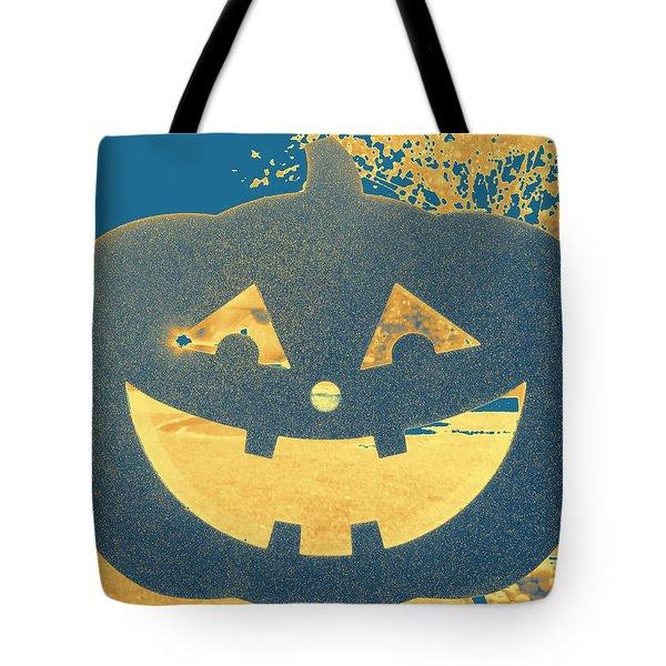 Window Pumpkin #2 Tote Bag