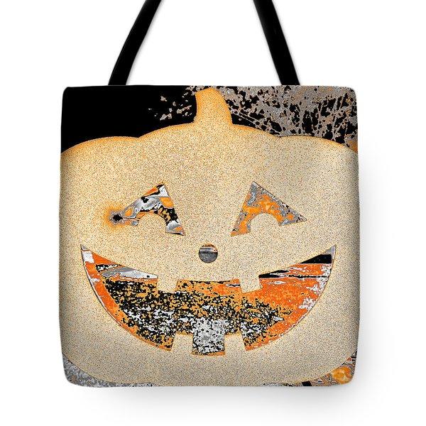 Window Pumpkin #3 Tote Bag