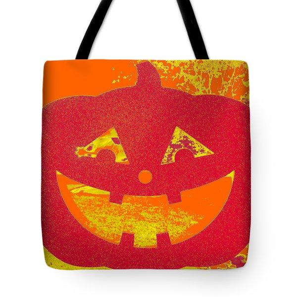Window Pumpkin #4 Tote Bag