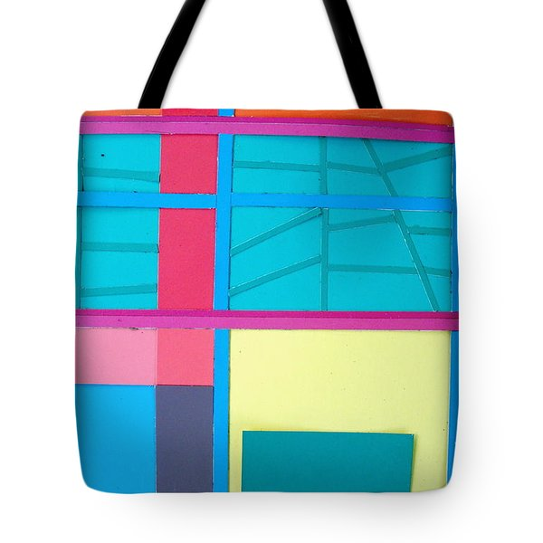 Window Reflections Tote Bag by Vonda Lawson-Rosa