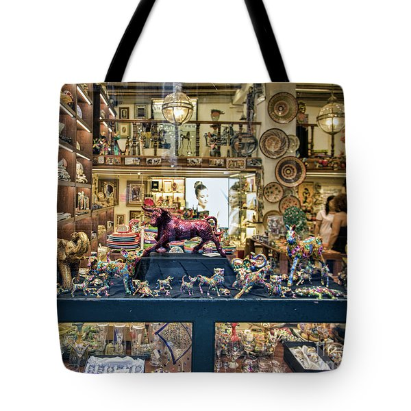 Window Shopping Barcelona  Tote Bag