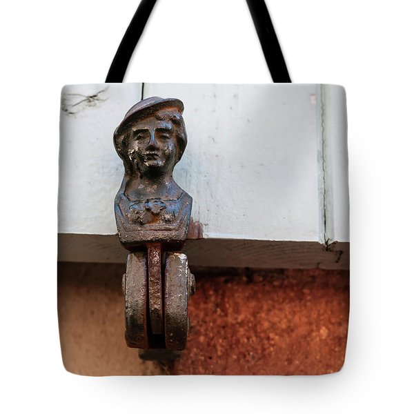 Tote Bag featuring the photograph Window Shutter Holder by Elena Elisseeva